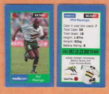 South African Phil Masinga Bari 2